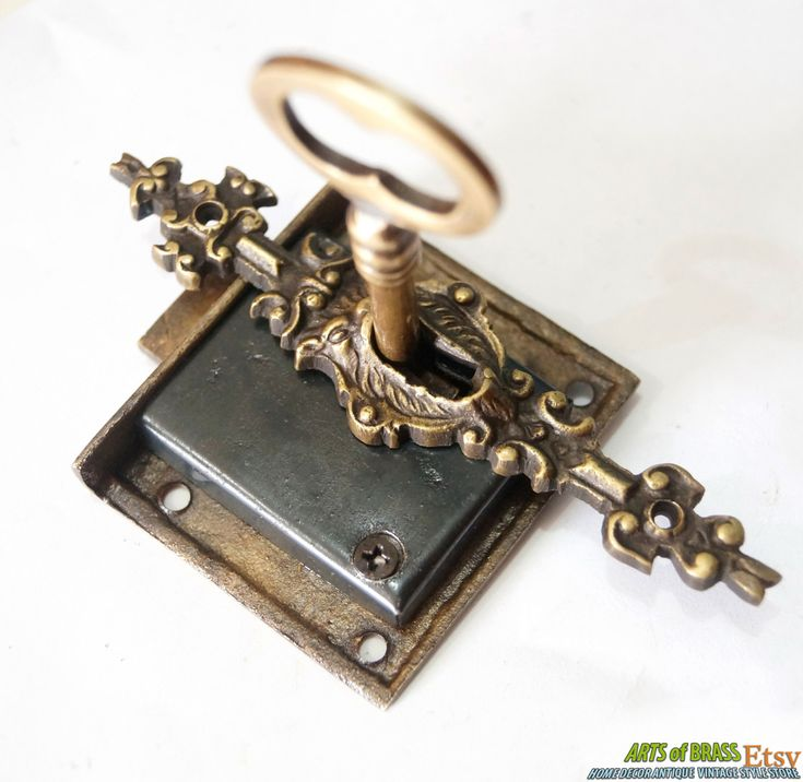 old locks and keys   Antique Key Lock and SKELETON Keys with LION MOUTH Antique Vintage Key ...