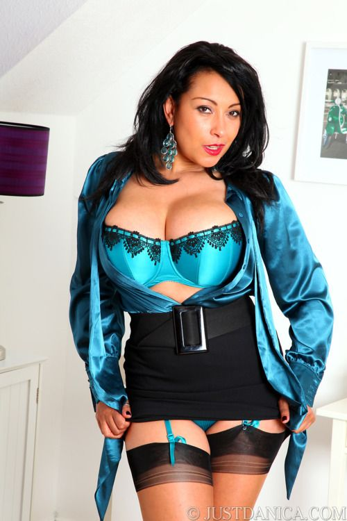 Danica Collins ♠ A Smoking Hot Lady / MILF in Stockings or ...