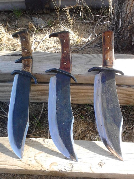 Bowie knife by StoneHengeMetalWorks on Etsy