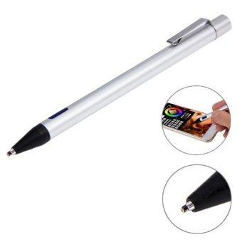 รีวิว สินค้า 2.3mm Ultra-thin Nib Active Stylus Pen for iPhone 6  6 Plus iPhone 5  5S  5C IPad Pro / iPad Air 2 / iPad Air / iPad mini / mini with Retina Display and All Capacitive Touch Screen(Silver) ⚾ แนะนำ 2.3mm Ultra-thin Nib Active Stylus Pen for iPhone 6  6 Plus iPhone 5  5S  5C IPad Pro / iPad Air 2 / ใกล้จะหมด | shop2.3mm Ultra-thin Nib Active Stylus Pen for iPhone 6  6 Plus iPhone 5  5S  5C IPad Pro / iPad Air 2 / iPad Air / iPad mini / mini with Retina Display and All Capacitive…