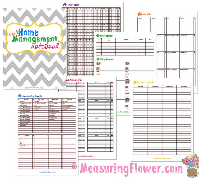 17 Best Images About Binder: Home Managment On Pinterest