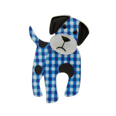 "Erstwilder Limited Edition Madeline the Muddled Mutt Brooch. ""Pound puppies make the best buddies once they find their forever home! I think I've found mine. """