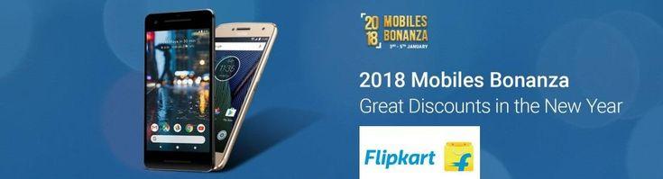 Flipkart 2018 Mobile Bonanza - Great discount in the #NewYear #mobile sale  #Flipkart #smartofferz #smartphone #Discount #Deals #offers #cheapdeals