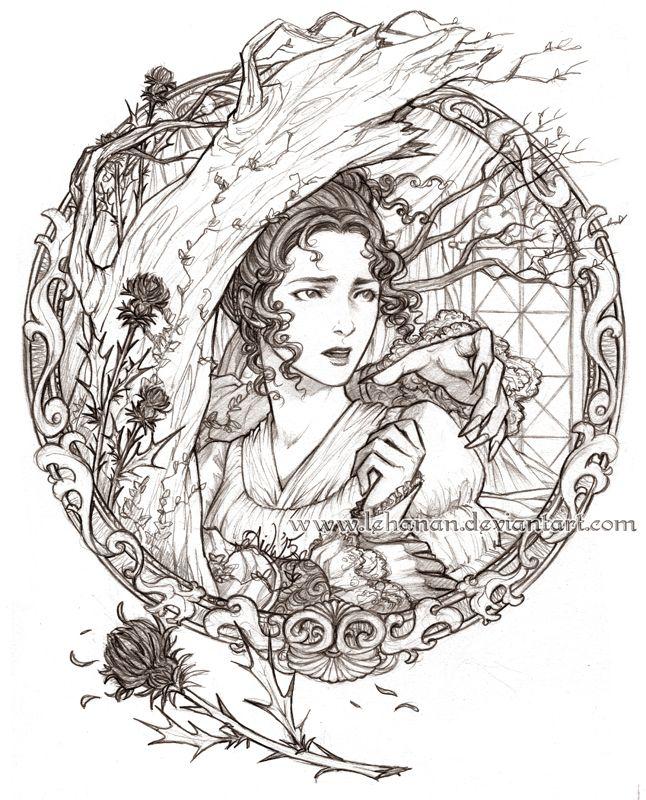 """Strange and Norrell - Arabella by Lehanan on deviantart.com (""""Jonathan Strange & Mr. Norrell"""")"""
