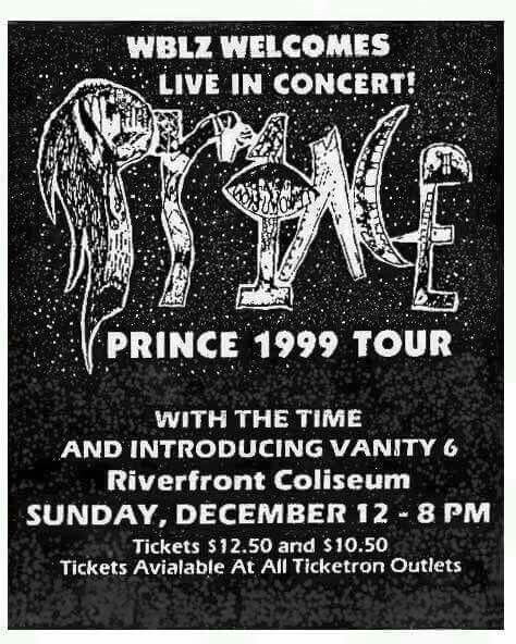 Old Prince concert poster