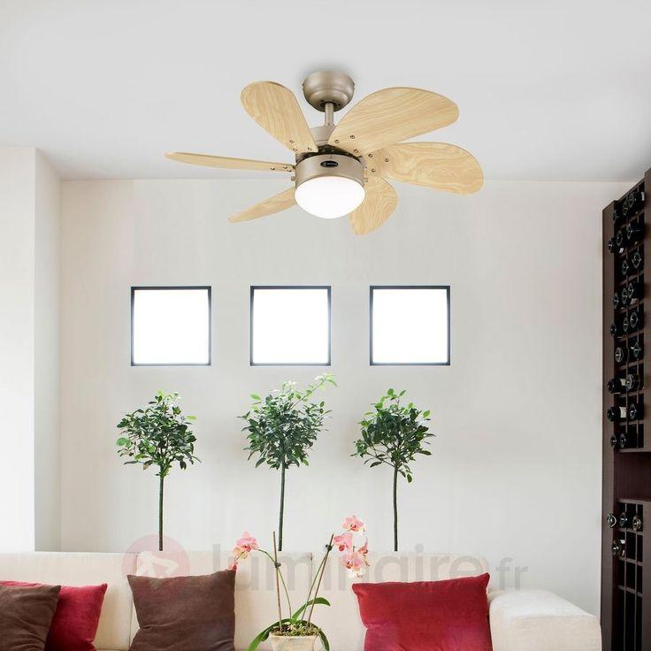 Ventilateur de plafond Turbo Swirl, référence 9602031 - Ventilateurs de plafond ou à poser chez Luminaire.fr !