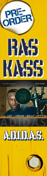 Ras Kass & DJ Rhettmatic: A.D.I.D.A.D.S Kickstarter campaign Banners     WHAT:  Developed visual asset for the Ras Kass & DJ Rhettmatic: A.D.I.D.A.D.S Kickstarter.com campaign    HOW:  Art Direction / Concept by DonnieBö Official / DUI Agency - Design execution by GuerillaPress.net      WHEN:  December, 2010    Buit Website: Kickstarter.com & Savetheraskass.com  Opened and managed Platforms for the STRK Campaign    Digital Broadband Penetration Marketing Concepts 