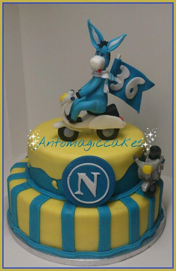 Torta forza napoli my cakes Pinterest