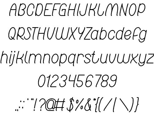 Image for Red Light Special font