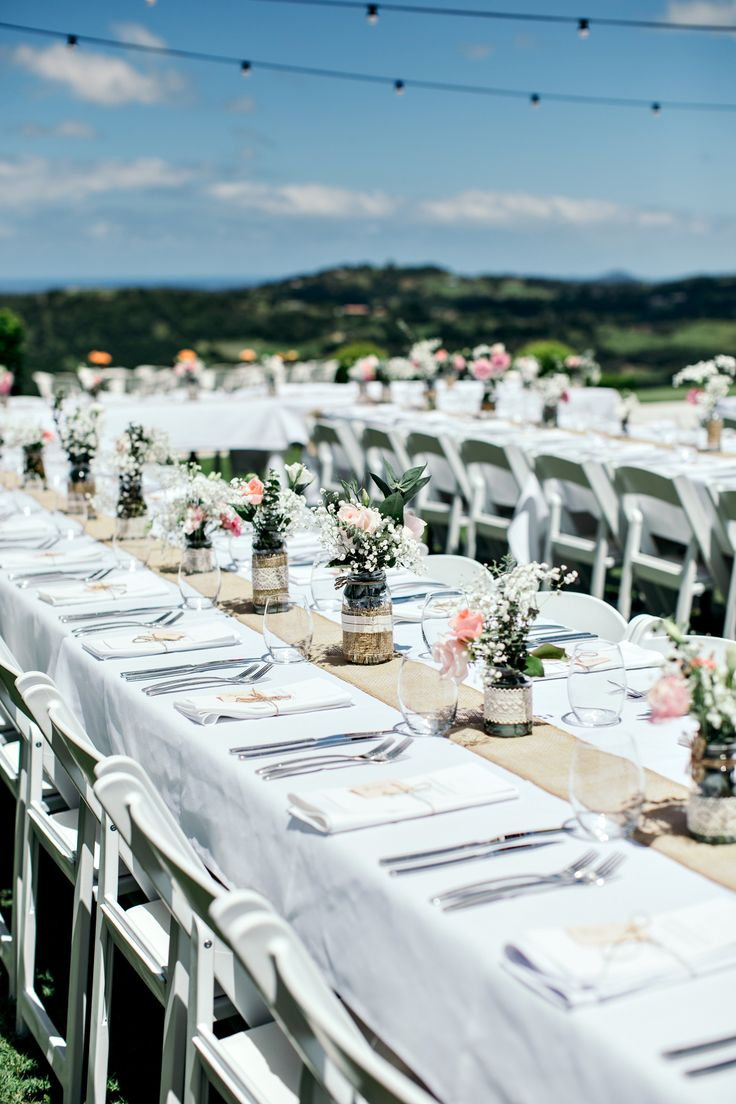 Gorgeous DIY outdoor reception styling // Felicity & Justin's Summergrove Estate Wedding  {Ivy Road Photography}