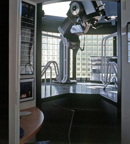 Telescope Observatory Dome Interior Design