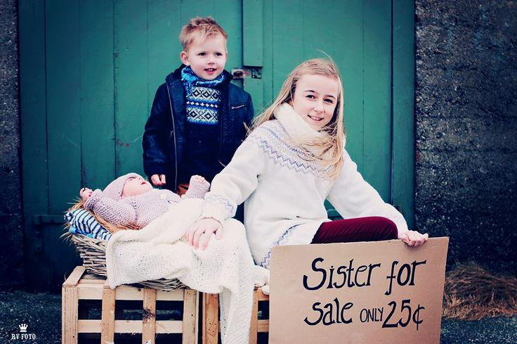 Sister for sale photography #sibling #sister #for #sale #photo #photographing #outside