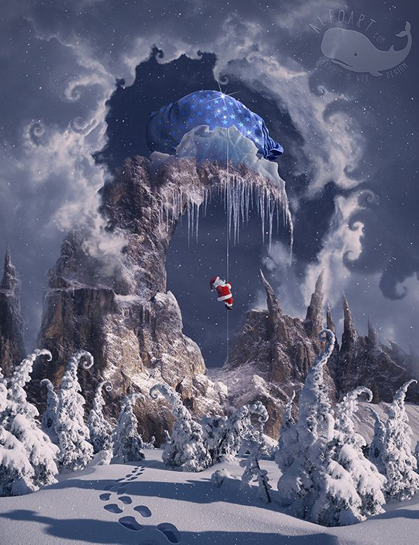 Learn How to Create Christmas Magic Photo Manipulation in Photoshop Tutorial
