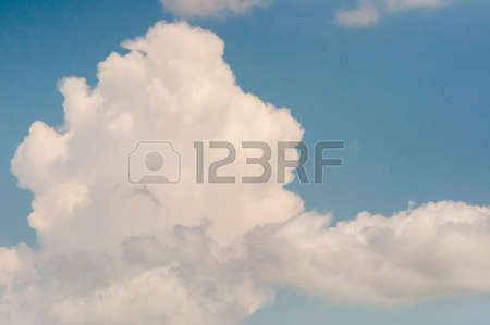 abstract photo of a cloudy sky
