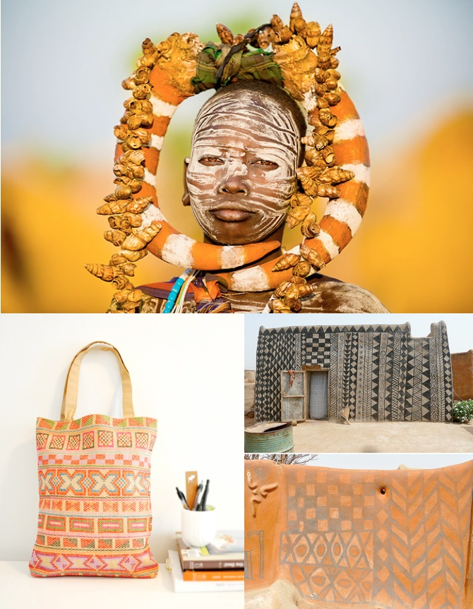 The orange looks yummy and brings about a smile. Love the woven bag.: Woven Bags, Kenyan Ideas