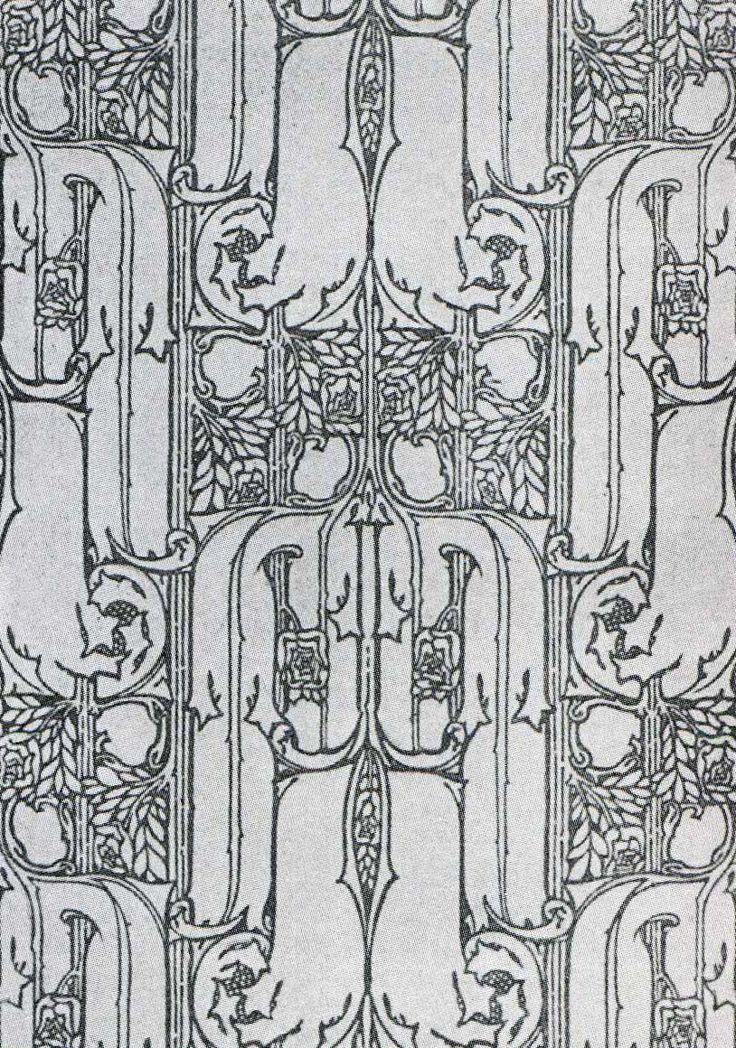 'Walden' wallpaper design by John Illingworth Kay