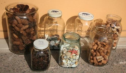 pientä mutta suurta: Old glass jars from Iittala and Karhula