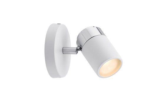 Spotlight Zyli IP44 Balken 1x3,5W GU10 wit/chroom 230V metaal 60334