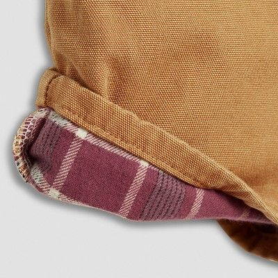 Dickies Men's Relaxed Straight Fit Canvas Flannel-Lined Carpenter Jean- Brown Duck 34x30