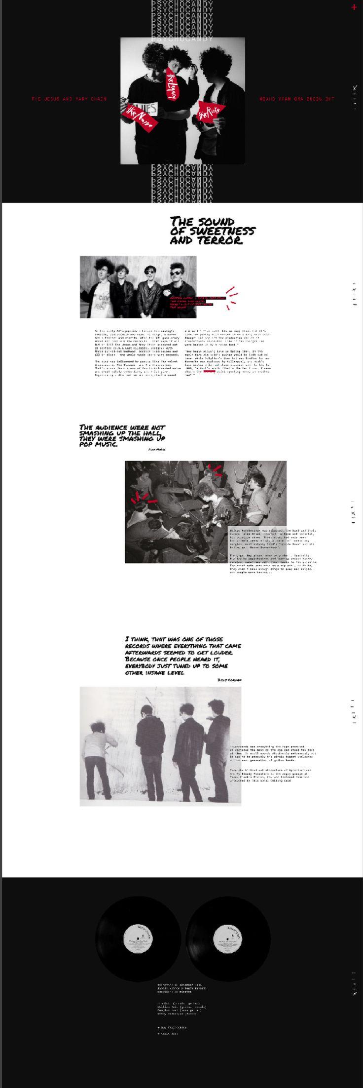 Aga Pomaranska   Jesus & Mary Chain - Psychocandy   website