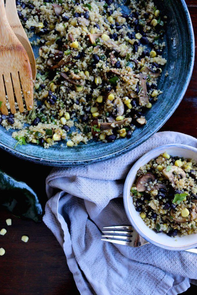 Quinoa Mexicana. #vegan #mexicana #quinoa