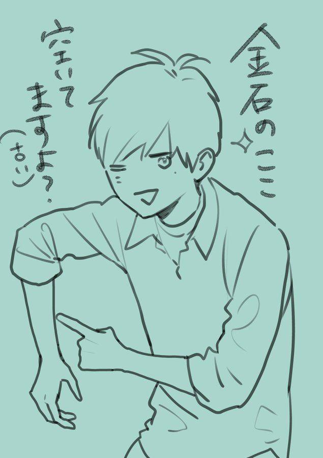 やまもり三香 mika yamamori さん twitter sketches male sketch humanoid sketch