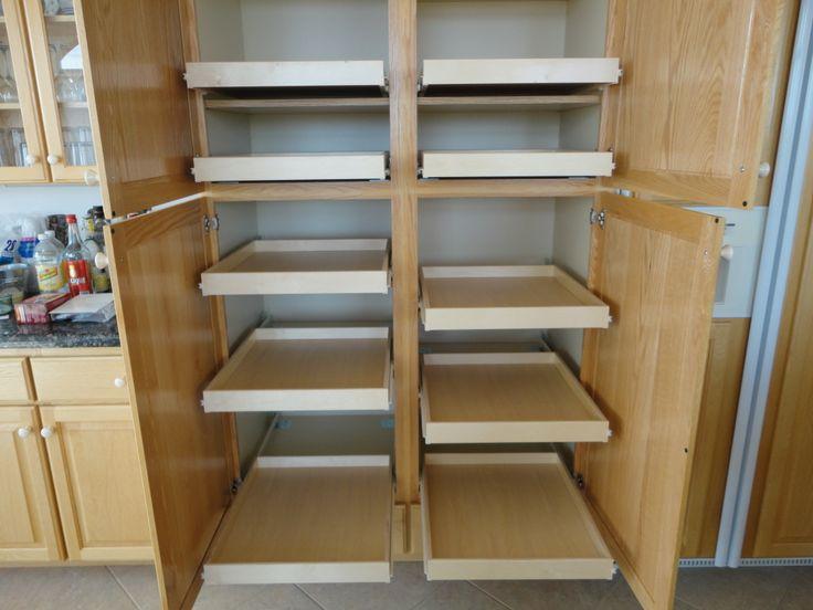 17 best images about pull out pantry shelves on pinterest. Black Bedroom Furniture Sets. Home Design Ideas