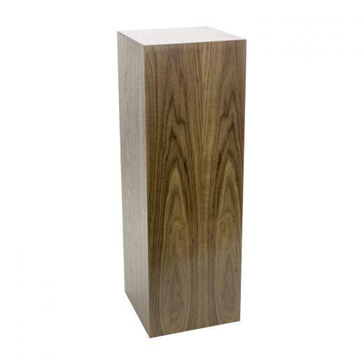 Walnut Wood Pedestal