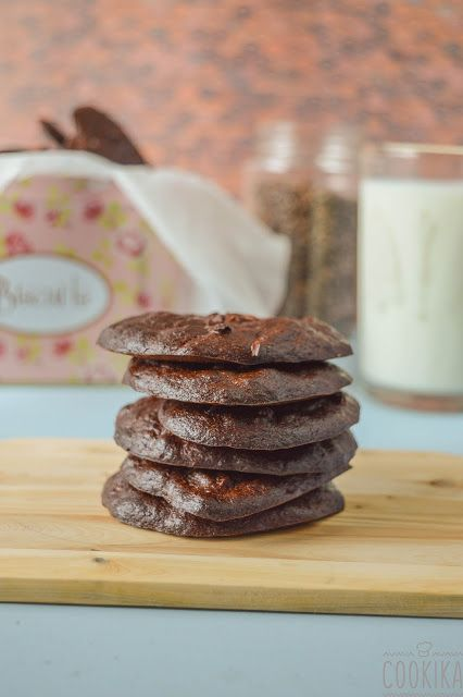 banana chocolate peanut butter cookies