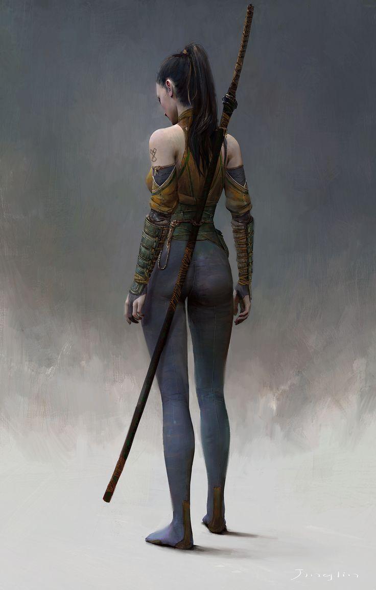 Jingin, a executora. Assassina de alto nivel, contratada especialmente para mata nobres e lordes.