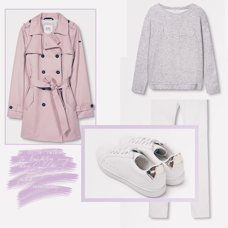 #trenchcoat #wishlist #pink #pastellpink #rosa #pastellrosa #denim #sneakers http://fashiontipp.com