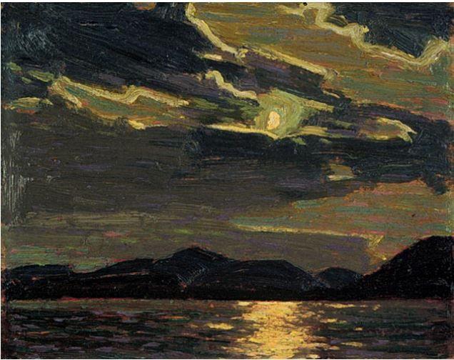 Tom Thomson Catalogue Raisonné | Hot Summer Moonlight, Summer 1915 (1915.51) | Catalogue entry