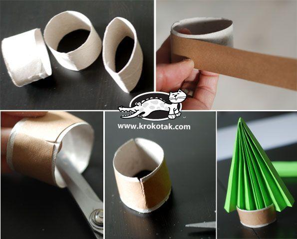 3 зимни идеи с нагъната хартия