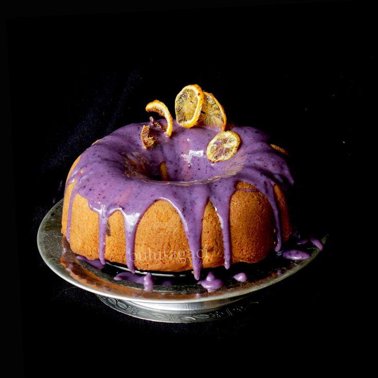 bulutağacı: Yabanmersini soslu Yabanmersini ve Limonlu Kek