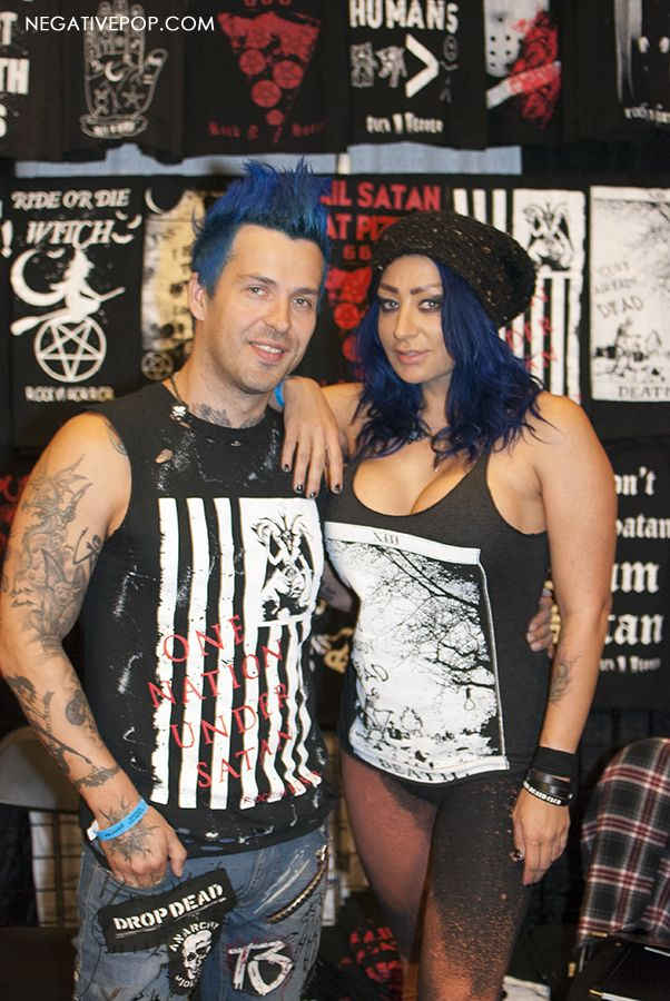 (Video) Rock N' Horror Apparel Interview at the NY Empire State Tattoo Expo 2016 ~ Words From the Master