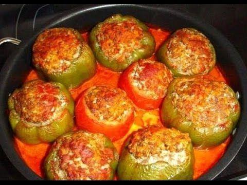 Как приготовить обалденный фаршированный болгарский перец | Четыре вкуса