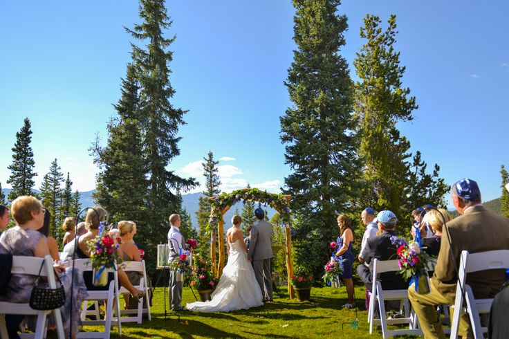 Breckenridge Golf Course Wedding Colorado Distinctive Mountain Events Trystan Photography Real Weddings Pinterest