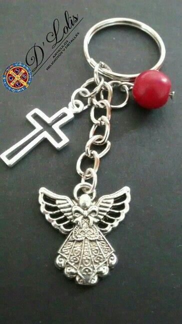 Recuerdos Llaveros angelitos.
