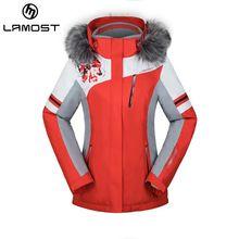 US $142.68 LAMOST fur ski jacket women's outdoor snow jacket lamost branded ski suit patterned ski jackets. Aliexpress product