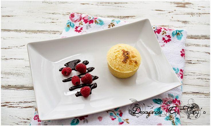 Desayunos en Tiffany´s: Coulant de chocolate blanco para dos