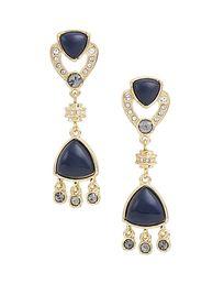Azure empire earrings