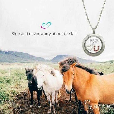 For the horse lovers.  #lilyannedesigns #lisaslockets #lisaslocketsandcharms #horses