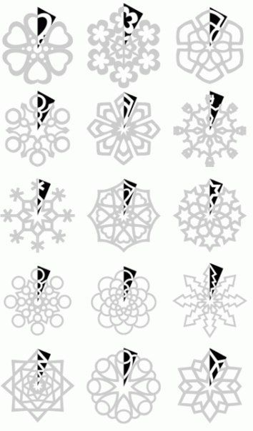 oh, very beautiful. need to do for the New Year, and after hanging on the window. #snowflakes #window