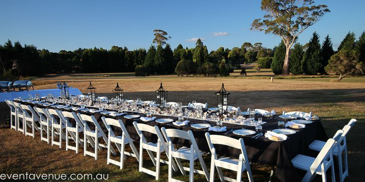 Wedding table outdoor, Wedding table arrangements, Wedding table long  - Tamar Valley Resort