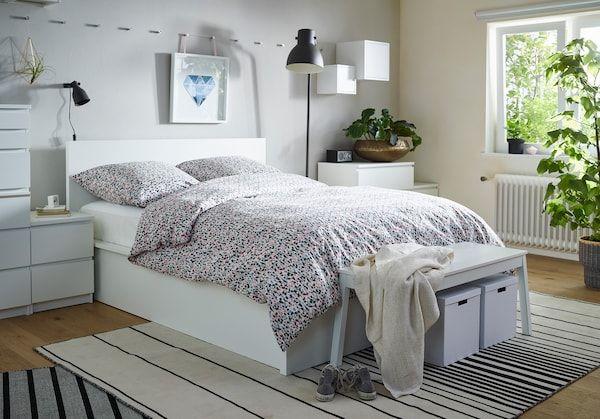 Malm Schlafzimmer Serie Ikea Malm Ikea Schlafzimmer Bettgestell Mit Serie Schrank Anleitung Kleiderschrank Aufbewahrung 160cm Breite In 2020 Home Decor Home Decor
