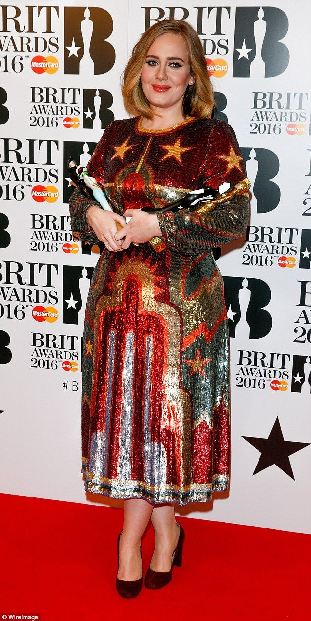 Global star: The singer is currently in the final stages of her Adele Live 2016 tour, which has seen her play 107 dates around the world