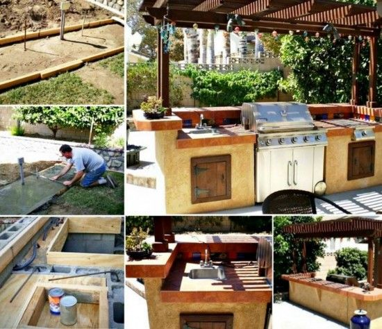 Diy Outdoor Kitchen, Outdoor Kitchens And Portable