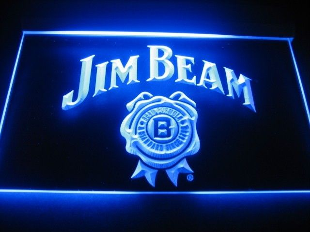 Jim Beam Logo Beer Bar Pub Store Neon Light Sign Neon