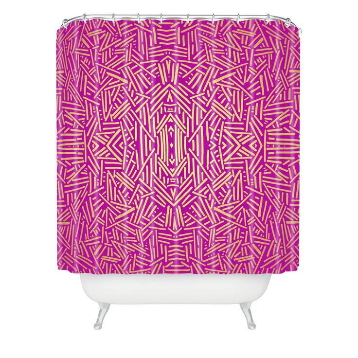 pink and gold shower curtain. Jacqueline Maldonado Radiate Raspberry Gold Shower Curtain Best 25  shower curtain ideas on Pinterest
