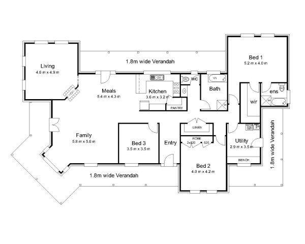 Best 25 australian house plans ideas on pinterest for Colonial home designs australia